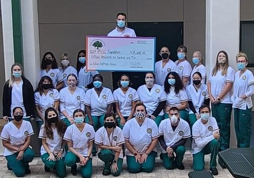 Royal Oak Nursing Center Check Presentation